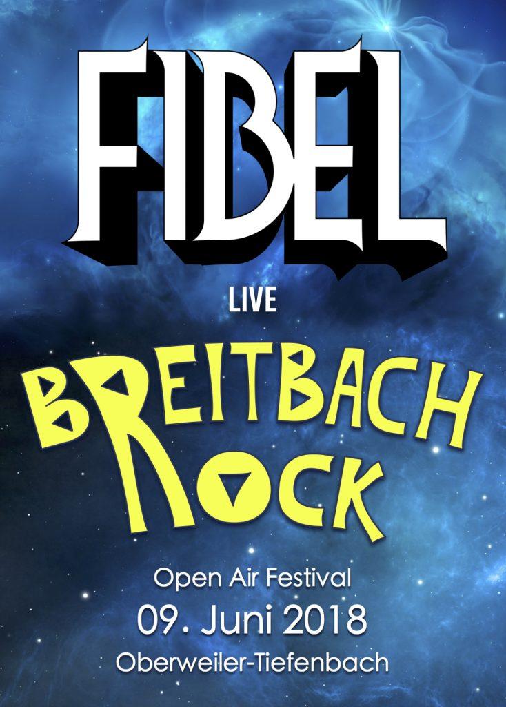 Fiebl auf dem Breitbach Rock
